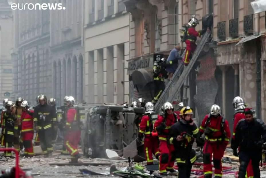 Paris : explosion mortelle due au gaz