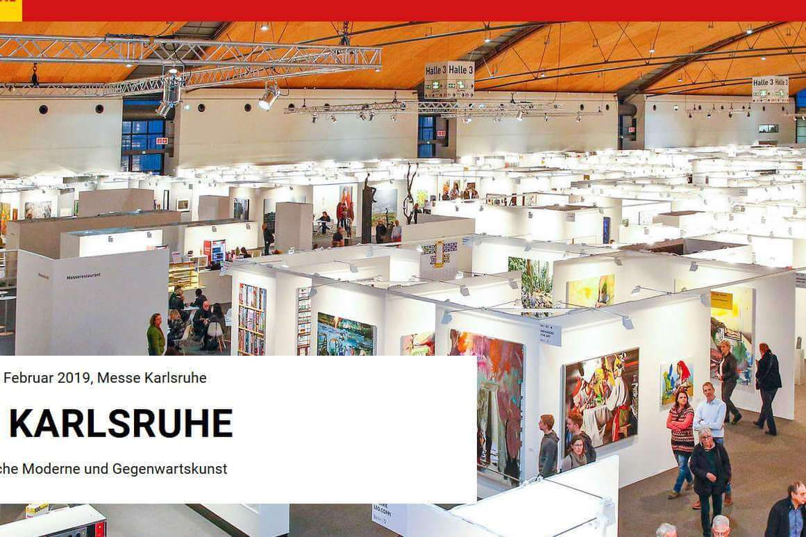 Le plus grand salon d'art moderne d'Europe (photo art Karlsruhe)