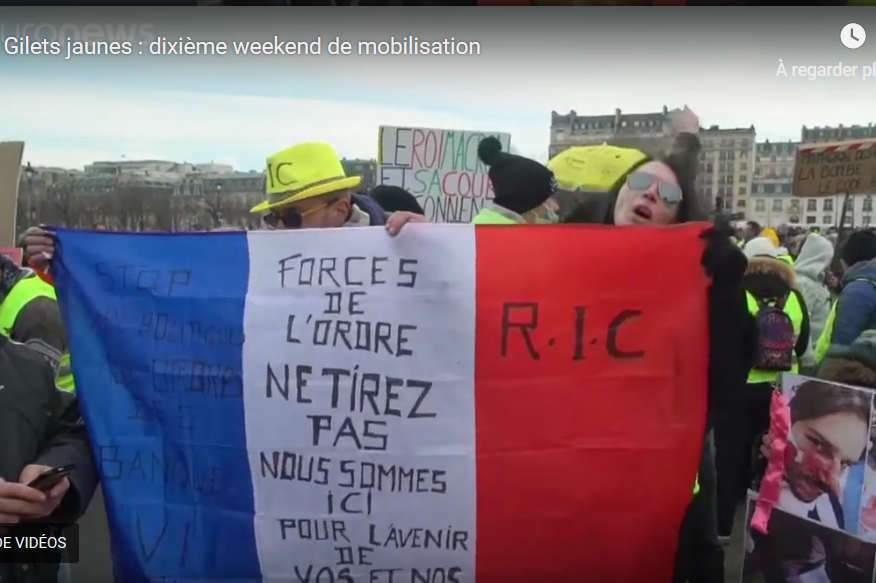 Gilets jaunes : « Pas de bla-bla, des actes ! »