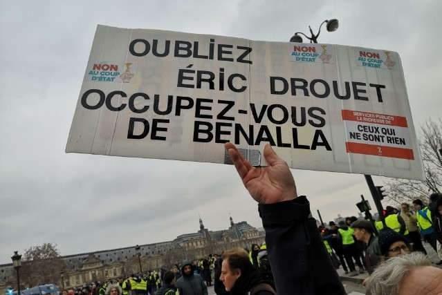 Les Gilets jaunes en colère à Paris (DR)