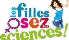 Les filles, osez les sciences (affiche université de Lorraine)