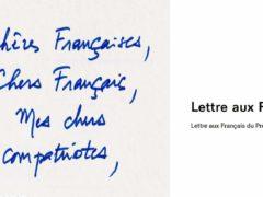 Lettre aux Français du Président de la République