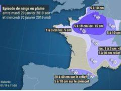 Météo France a placé 43 départements en vigilance orange (Météo France)