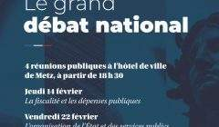 Metz : grand débat national (réunions publiques)