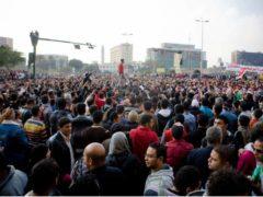 La place Tahrir, au Caire en Égypte, le 21 novembre 2011. Hossam el-Hamalawy, CC BY-ND