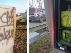 Sur une route d'Alsace (capture d'écran). Twitter