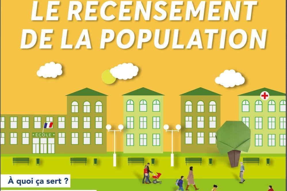 Recensement de la population : top départ le 17 janvier 2019