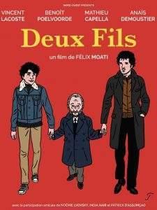 """Floc'h a dessiné l'affiche du film : """"Il s'est complètement approprié le film aves son dessin"""", estime Félix Moati."""