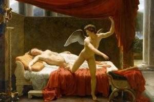 Amour et Psyché, par François-Edouard Picot, 1817. Musée du Louvre, Paris. Wikipédia