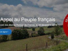Pétition des maires ruraux de France