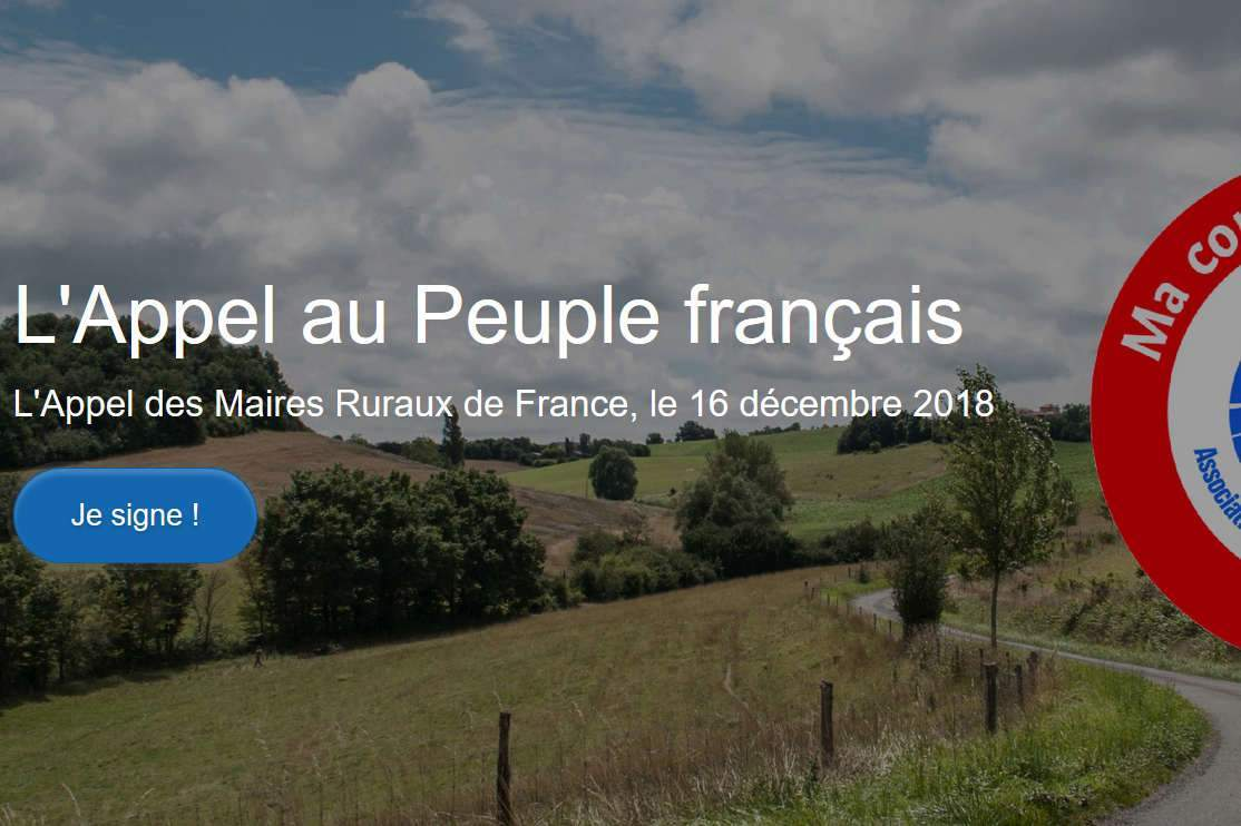 Pétition des maires ruraux de France