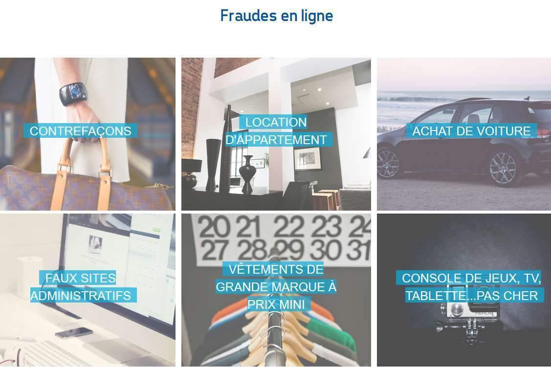 Fraudes en ligne (centre européen des consommateurs)