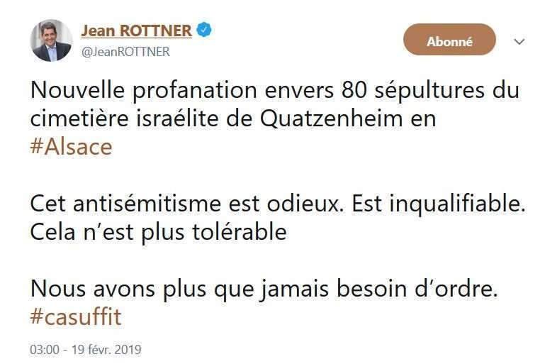 Quatzenheim, Jean Rottner