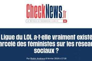 L'article de Libération qui a déclenché toute l'affaire. Libération