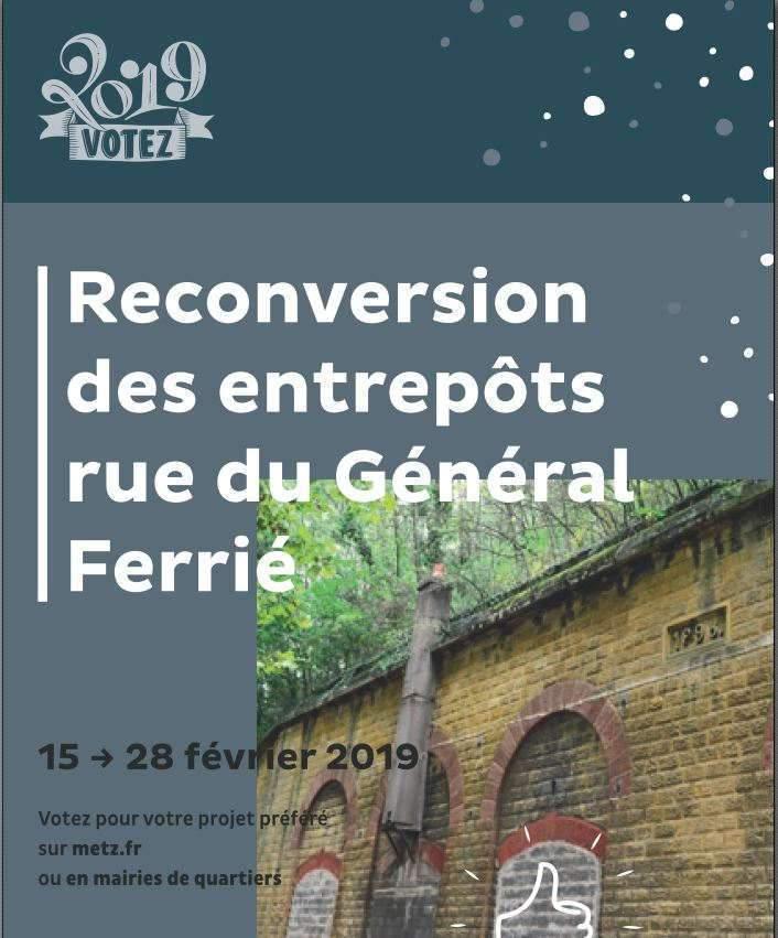 Votation pour la reconversion des entrepôts du Général Ferrié (Dossier ed presse)