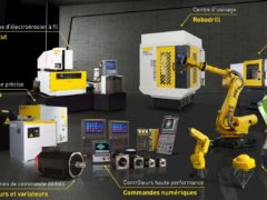 Robotique industrielle (FANUC)