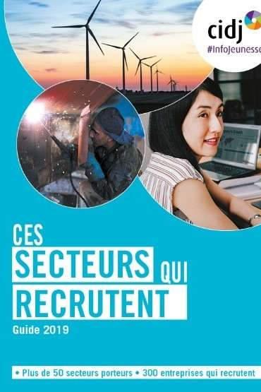 Les métiers qui recrutent les jeunes (CIDJ)