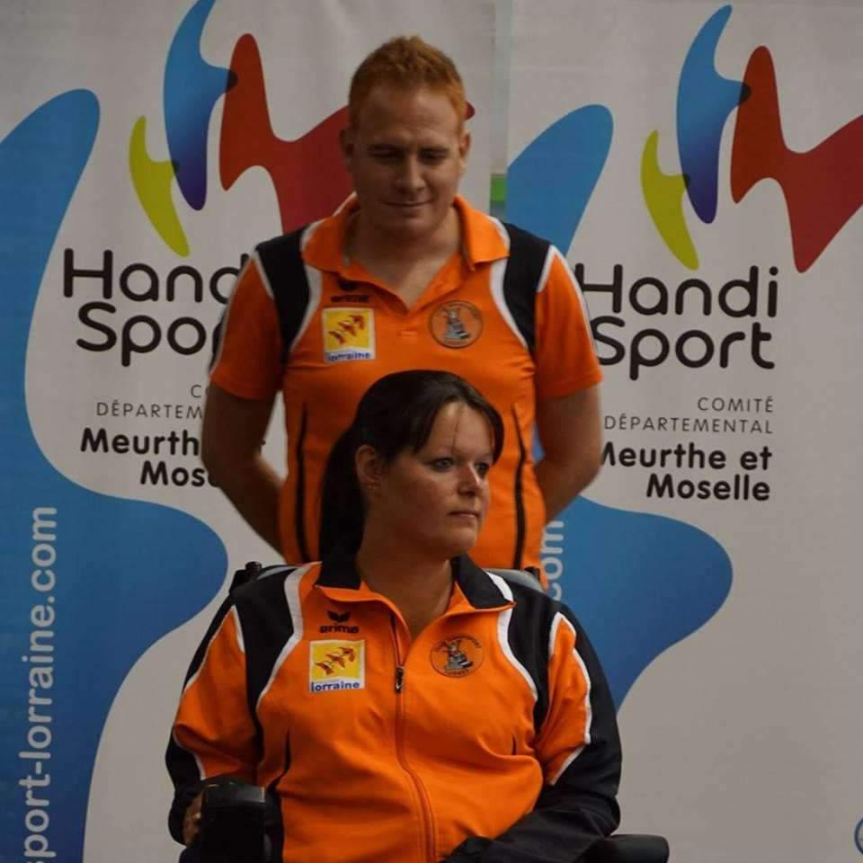 Sonia Heckel représentera la France à Montréal à l'Open mondial de boccia (photo HandiSport 54)