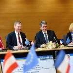 Rencontre Land de Coopération Grand Est-Land de Haute-Autriche (photo Stadler Région Grand Est)