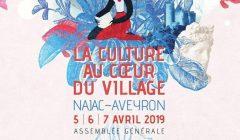 Culture au coeur du village (affiche AMRF)
