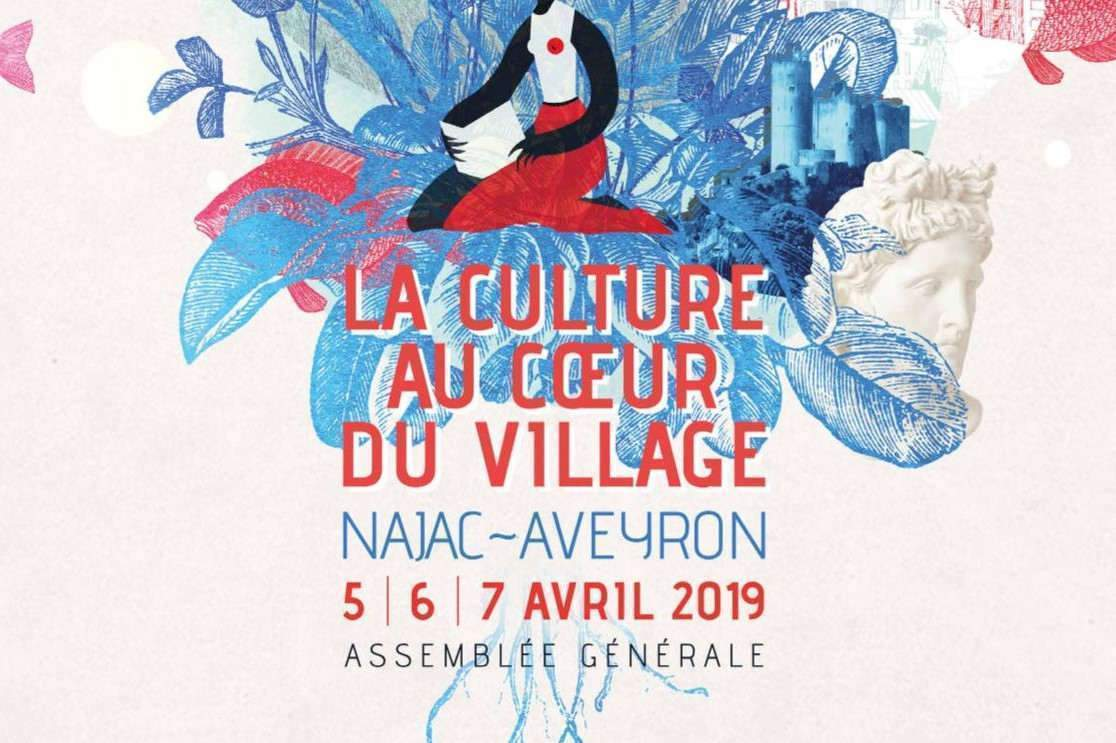 «La culture au cœur du village» : 6 avril 2019 à Najac (Aveyron)