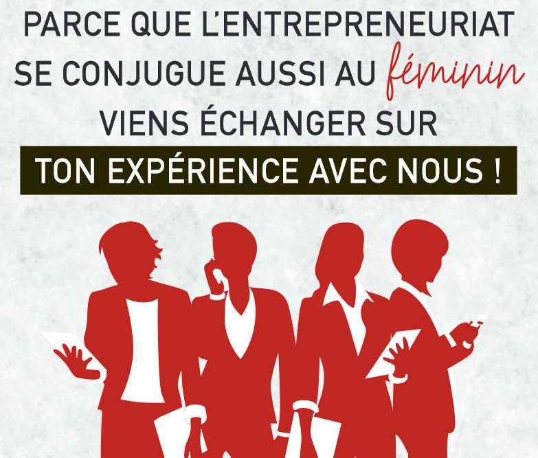 Entreprendre au féminin (affiche)