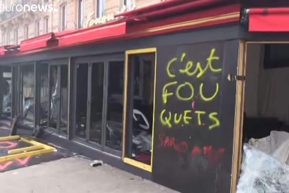Gilets jaunes : les Champs Élysées saccagés