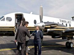 Nancy-Cannes au salon MIPIM en avion privé (photo CCI Grand Nancy)