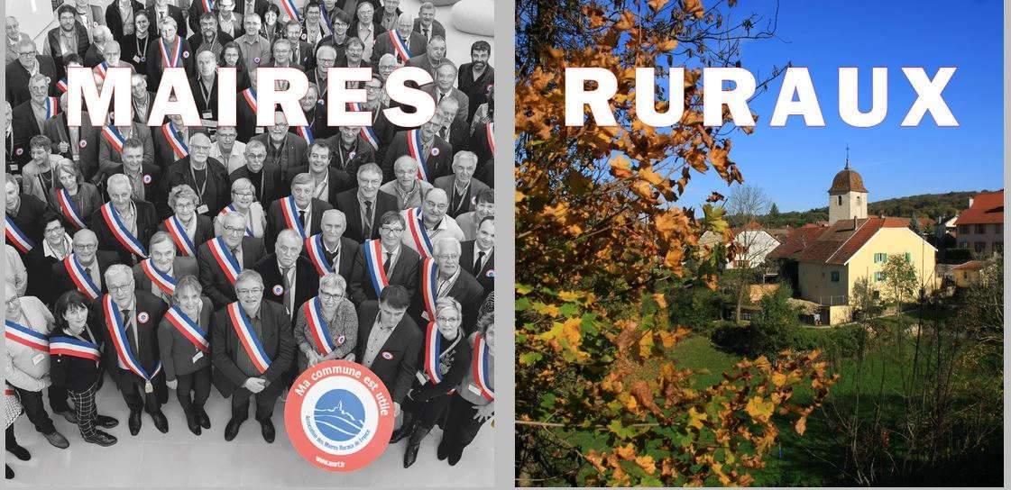 L'association des maires ruraux de France se bat pour l'égalité entre ruraux et urbains (AMRF)