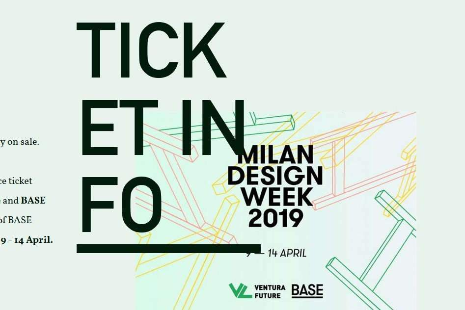 Milan design week (affiche)