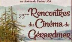 Rencontres du cinéma de Gérardmer (affiche)