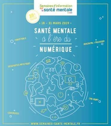 La santé mentale à l'ère du numérique (affiche)