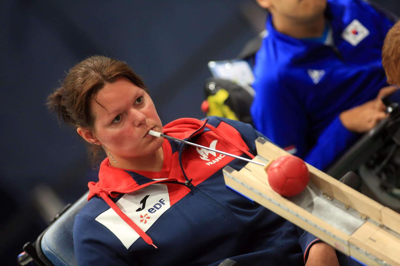 Sonia Heckel, championne de Boccia (DR)