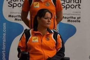 Sonia Heckel, (photo Handisport 54)