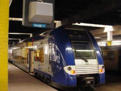 TER Lorraine non équipé du système de sécurité européen (photo le hérisson du rail)