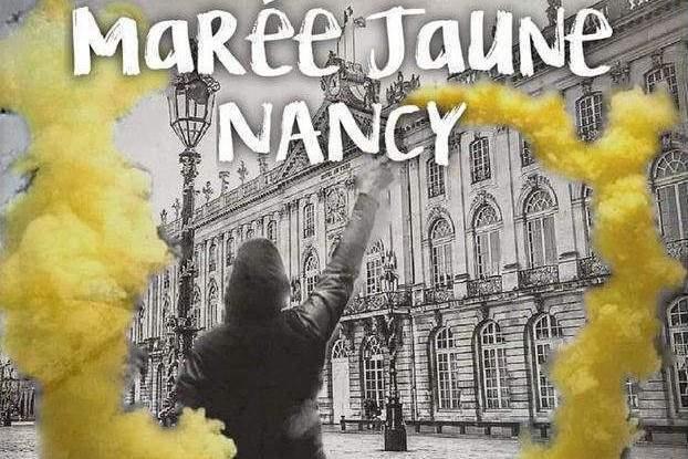 Gilets jaunes : le 13 avril à Nancy, le 27 à Strasbourg