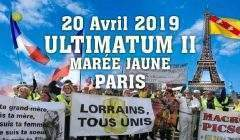 Gilets jaunes, acte 23,Ultimatum 2 (Facebook)