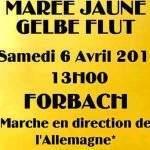 Manif des GJ à Forbach le 6 avril 2019