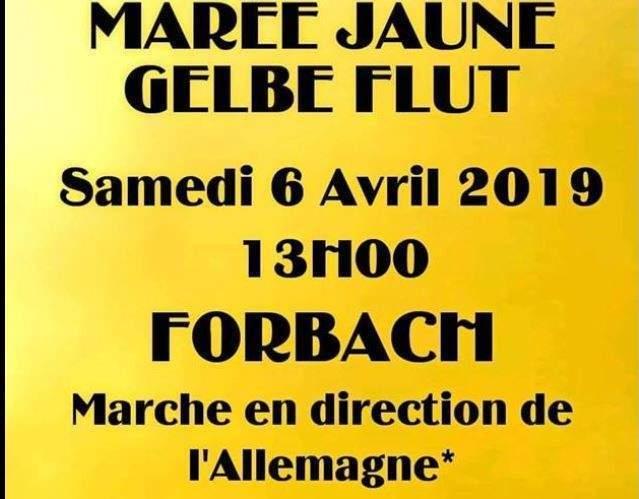 Gilets jaunes : L'acte 21 à Forbach