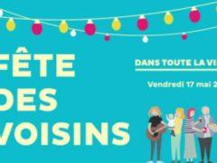 La fête des voisins aura lieu le 17 mai 2019 à Metz (affiche)