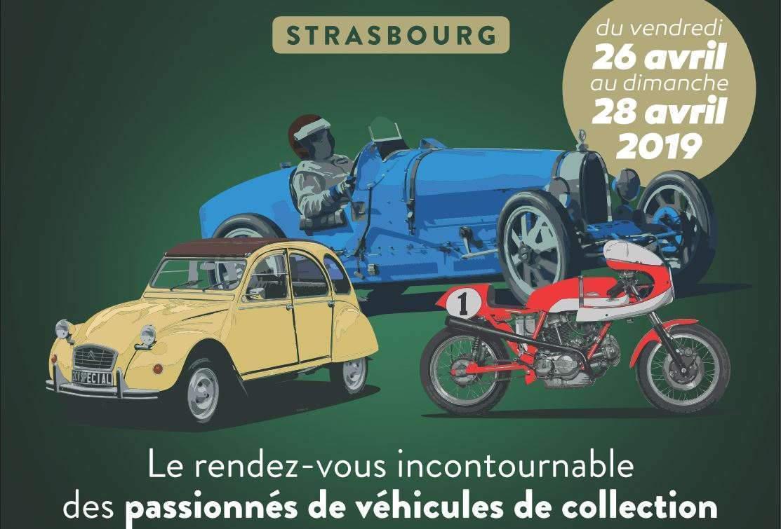 Salon des véhicules 'occasion à Strasbourg (affiche)