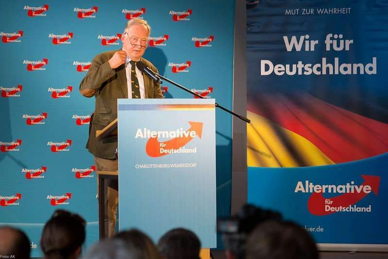 Alexander Gauland, le co-dirigeant de l'AfD, (Photo credit: nicolausfest on VisualHunt /  CC BY-ND)
