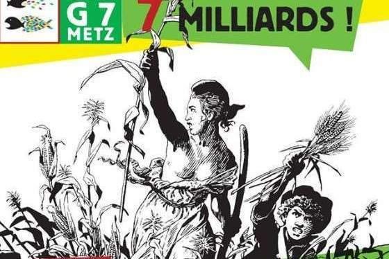 Manif des alter-G7 à Metz