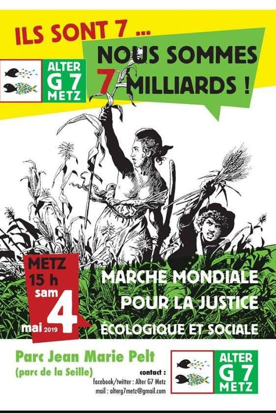 Plusieurs milliers de manifestants à Metz (Facebook)