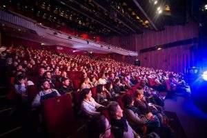 La 40e édition du festival du court-métrage de Clermont-Ferrand aura généré près de 11 millions d'euros de retombées économiques pour le territoire. Baptiste Chanat / Clermont-filmfest.org