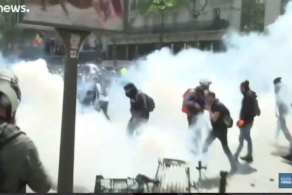1er mai : des affrontements à Paris