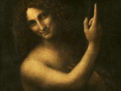 Leonardo da Vinci, Saint John the Baptist.Wikipedia, CC BY