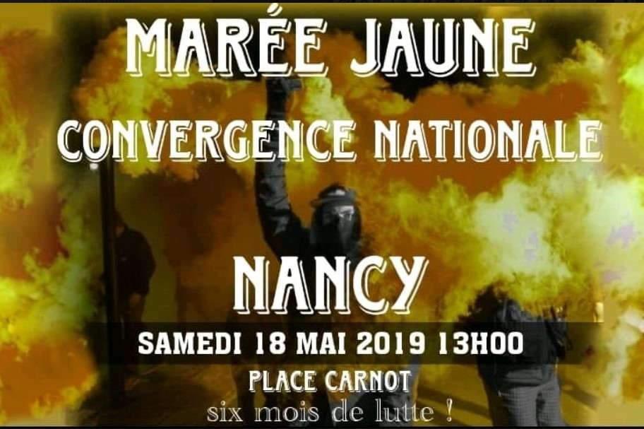Gilets jaunes : l'acte 27 samedi à Nancy