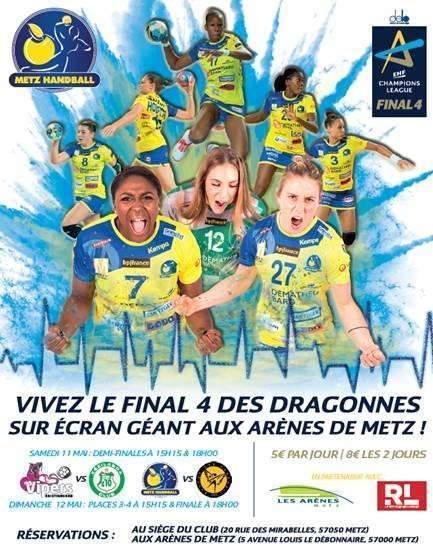 Les Dragonnes en finale (Metz-Handball)