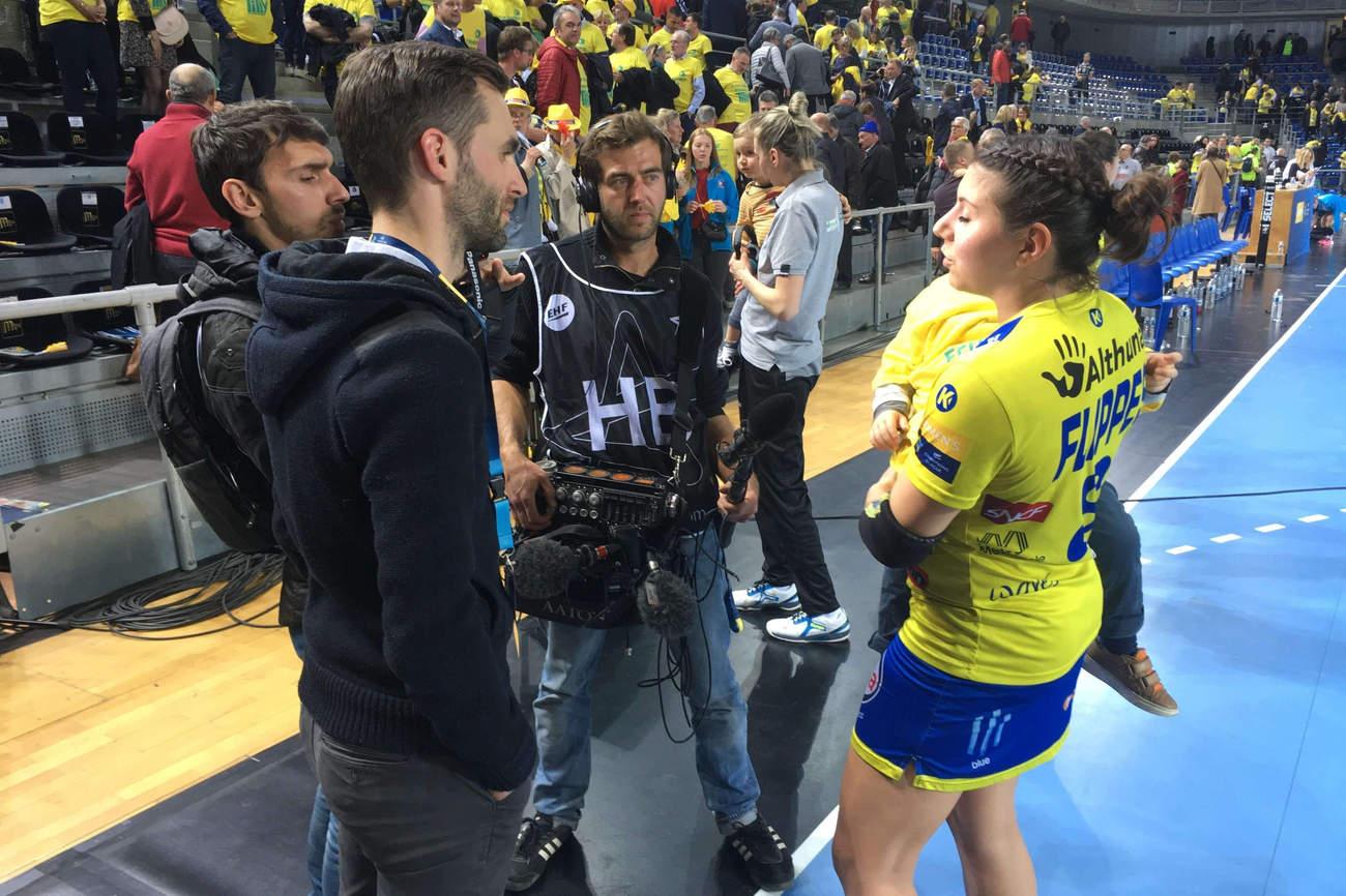 Arnaud Cael et Cyril Magi ont suivi la qualification des dragonnes au Final Four et nous font découvrir les coulisses du club décryptant les raisons de ce succès. ( photo Nomades)